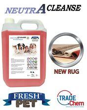 Carpet Cleaning Shampoo Solution Pet odour eliminator NEW RUG 5ltr NEUTRA