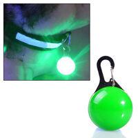 Mini Lampe LED Lumière de Nuit de Sécurité pour Collier Chien / Vert