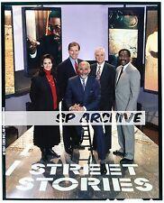 "1980s Original 4x5 Transparency ""STREET STORIES"" ED BRADLEY - Victoria Corderi"