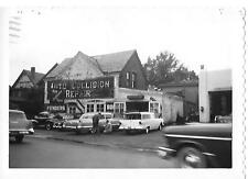 1957 NEW HAVEN 3 1/2 X 5 PHOTO, LANDER AUTO BODY, 35 WHALLEY AVE, NEW HAVEN CONN