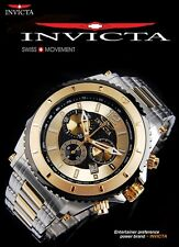 NWT $595 INVICTA MEN'S PRO DRIVER COLLECTION CHRONOGRAPH WATCH 1011