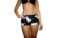 Adorable Cute Cat Kittens All Over Printed Hot Pants Shorts Fancy Dress