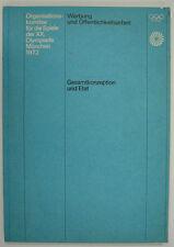 """Olympische Spiele 1972 München """"Werbung und Öffentlichkeitsarbeit"""" Otl Aicher"""