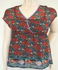 Rockmans Floral Polyester Casual Tops & Blouses for Women