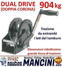 VERRICELLO MANUALE ARGANO KG 904 DUAL DRIVE SPX BARCA GOMMONE CARRELLO NAUTICA