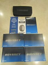 2014 HONDA ODYSSEY OWNER'S MAUNUAL PACKAGE WITH CASE