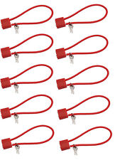 "10, 15"" Cable Gun Safety Wire Lock R10SC1 R10SC3 R11SC3 Red 2 Keys Pistol Rifle"