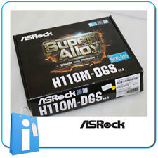 Placa base mATX H110 ASRock H110M-DGS R3.0 ddr4 Socket 1151 con Accesorios