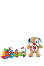 NEW Fisher-Price Puppy's Smart Stages Train & Puppy Bundle