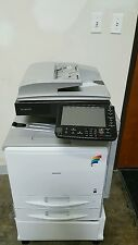 RICOH C300 WITH LESS THAN 40K METER COLOR COPIER PRINTER SCANNER FAX