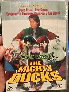 D2 The Mighty Ducks NEW/sealed region 4 DVD (1992 Disney family sports movie)