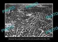 OLD POSTCARD SIZE PHOTO BIRKENHEAD MERSEYSIDE ENGLAND DEVONSHIRE PARK c1950
