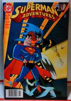 SUPERMAN ADVENTURES (1996) #25 NEWSSTAND VARIANT Batgirl BATMAN VF- DC COMICS