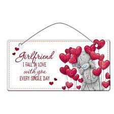 Me to You Girlfriend Plaque - Tatty Teddy Bear