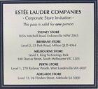 Estee Lauder Corporate Store Pass