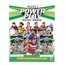 NRL 2014 RUGBY LEAGUE - Power Play Official Collector Album & Card Packs (2)