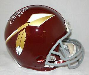 Sonny Jurgensen HOF Signed F/S Redskins 65-69 TB ProLine Helmet- JSA W Auth *Wht