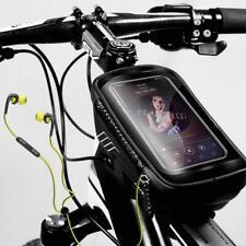 Sac Sacoche Cadre Tube Vélo Selle VTT Porte-bagage étanche Poche téléphone