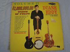 VTG Vinyl LP - Duane Eddy Vol II - One Million Dollars worth of Twang 121744