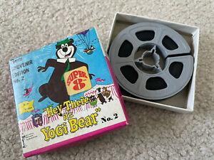 """Hey There It's Yogi Bear"" 8mm Souvenir Edition No. 2 Movie Hanna Barbera"