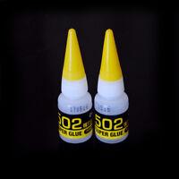 2pcs 502  Super Glue Cyanoacrylate Adhesive Pop UK