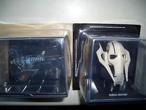 SWH87 SPECIAL TRADE FEDERATION INVISIBLE HAND + GRIEVOUS BUST STAR WARS NEW