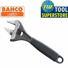 """Bahco 9031-T 218mm 8.5"""" ERGO Adjustable Thin Slim Wrench Wide Jaw 38mm Open"""