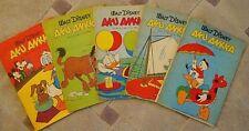 AKU ANKKA LOT OF 5 ALL 1967 Walt Disney FINNISH COMIC BOOKS ALL NICE FOR 50 YRS