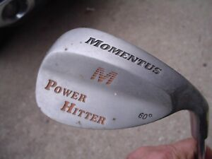 Momentus Men's RH 60* Power Hitter Weighted Training Wedge Golf Club