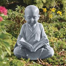 Gentle Spiritual Baby Buddha Meditation Sculpture Garden Statue