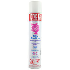 4 Bottles Hurry Up Glue Spray Activator Nail Glue Dryer 7.2 oz