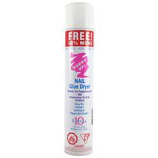 4 Bottles Hurry Up Glue Spray Activator Nail Glue Dryer 7.2 oz