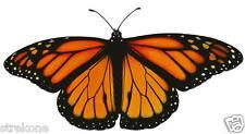 Flying MONARCH BUTTERFLY in flight Wings Open - Window Art Stick-On Decal - NEW