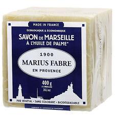 """Marius Fabre Sapone di Marsiglia """"Cubo"""" Olio di Palma 10x600g Originale Francese"""