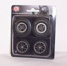 GMP ACME 1/18 Dragster Wheel & Tire Tyre Set A1800811W Blown Altered Dragster