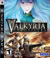 Valkyria Chronicles Ps3 Playstation 3 Game Complete RPG Fantasy