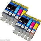 10 Canon Compatible AVEC PUCES Cartouches D'encre Pour MP550