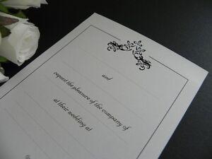 Le Fleur Classic DIY Invitations Wedding - Engagement - Event - Party - 25 Pack