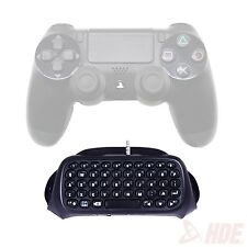 Wireless Bluetooth Keyboard Accessory Adapter for Sony PlayStation 4 Controller