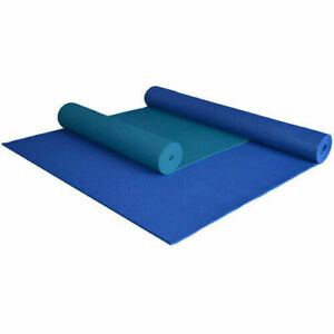 84x36 Yoga Direct Extra Long and Wide Non Slip Yoga Mat Exercise Fitness - BLUE