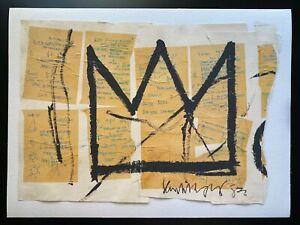 "Basquiat Print Canvas Poster Wall Art Jean Michel 18"" x 24"""