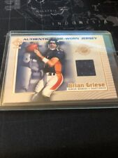 2002 Private Stock Game Worn Jerseys #44 Brian Griese