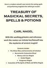 TREASURY OF MAGICKAL SECRETS  Finbarr Occult  Magick Grimoire. Nagel. 2 Volumes!
