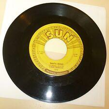 ROCKABILLY 45 RPM RECORD - CARL PERKINS - SUN 274