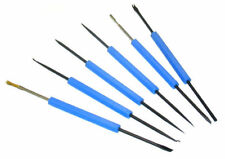 Lötwerkzeug Kit,  6-Teilig, beidseitig Feinwerkzeug Haken, Bürste, Dorn