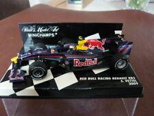 Minichamps, Red Bull Racing Renault RB5, Sebastian Vettel, 2009. New. 1/43 scale
