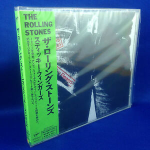 ROLLING STONES: Sticky Fingers (1994 RARE JAPANESE REMASTERED CD OOP VJCP-25111)