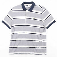 Vintage LACOSTE  Blue Classic Short Sleeve Polo Shirt Mens L