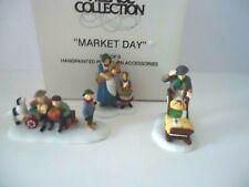 "Dept. 56 Heritage Village Collection #56413 "" Market Day """