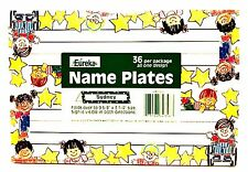 Eureka Name Plates Self-Adhesive Star Students 36 Cubby Desk Locators Teach Aide